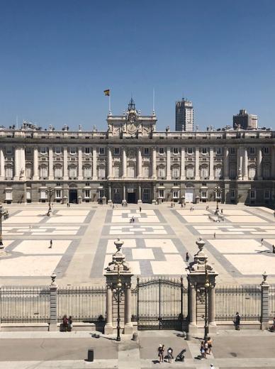 Cambio de Guardia del Palacio Real 2019