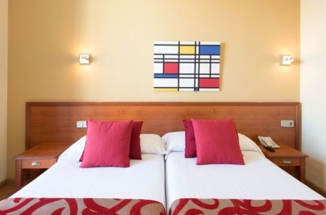 habitacion hotel madrid
