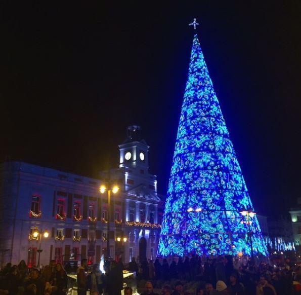 luces navidad madrid 2018