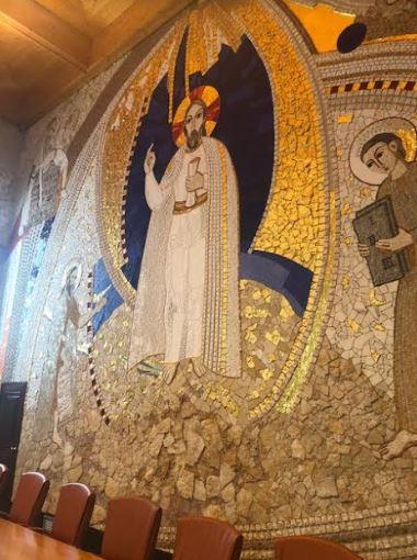 mosaico sala capitular